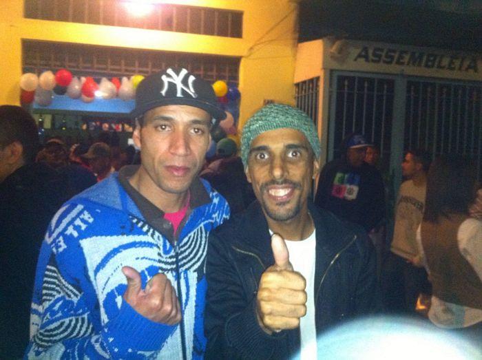 DJ Patife e amigo
