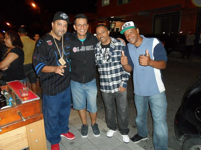 DJS MARCELÃO, INDIO, LELA E PAULINHO CAGEBE