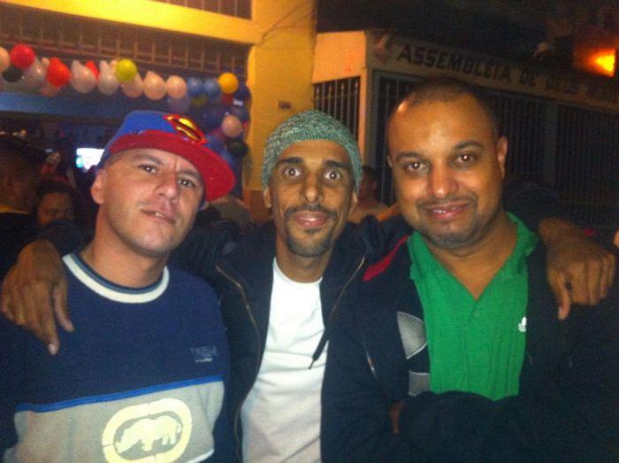 DJS Well, Patife e William Santos