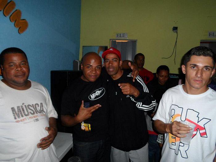 DJS XIXA, NEGO, IRI E WESLEY